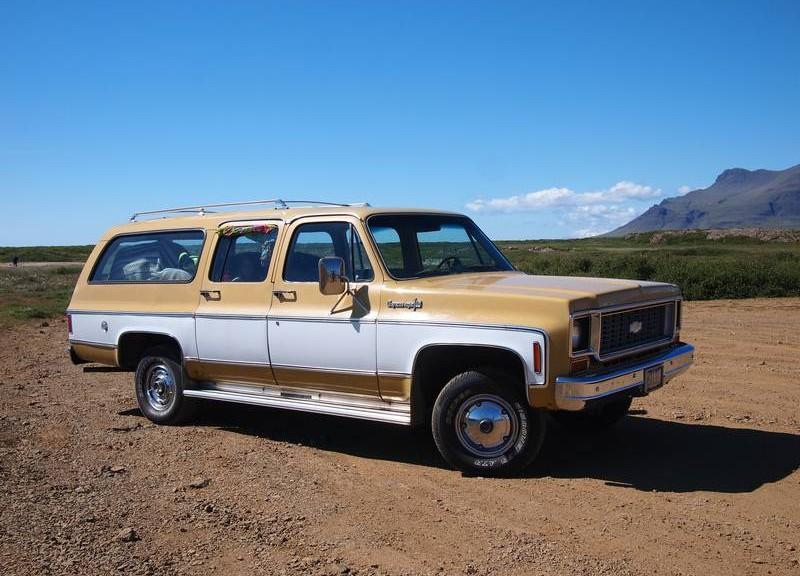 De Chevy op IJsland